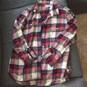 MADEWELL Classic Ex-Boyfriend Shirt Flannel Shirt